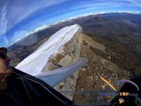 Decouverte et initiation au Pilotage au dessus de la falaise de Ceuse